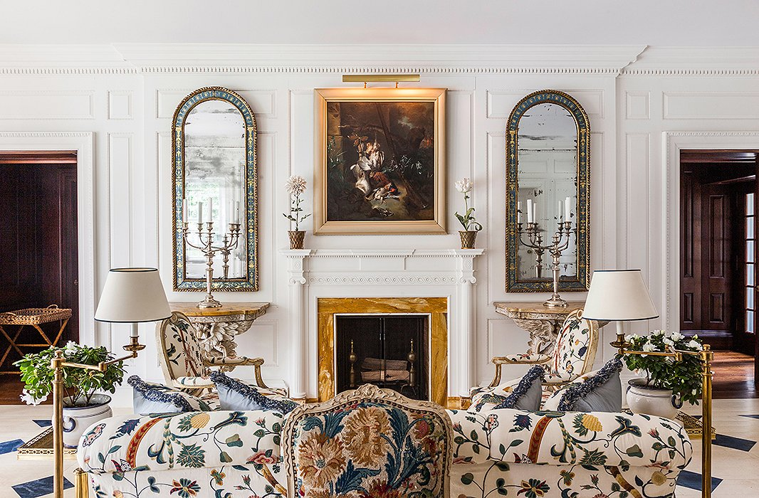 Not sure what to do with the space above your fireplace? See how stylish decorators have styled the space