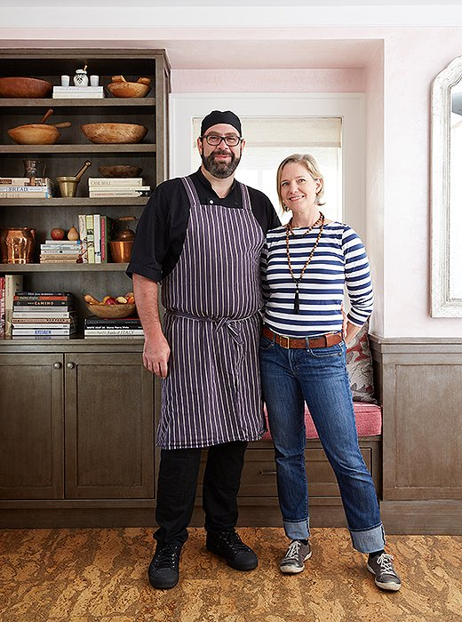 Joy and Greg Margolis, who together run the new-this-year Nantucket Culinary Center (she is its director, while Greg is the chef, or more formally, the culinary director). When I decided to throw my own Nantucket-style dinner party, they became my guides.