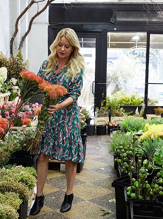 Christiane makes a beeline for New York's Flower District in search of the season's freshest blooms.