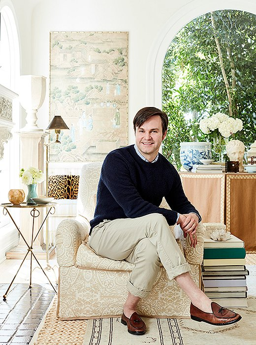 Designer Mark D. Sikes has had a milestone year. His coveted fashion line, MDS Stripes, has taken the style world by storm; his debut decorating book, Beautiful, has joined the ranks of must-read tomes; and his fabulous patterns for Schumacher have caught the eye of design-lovers all over.