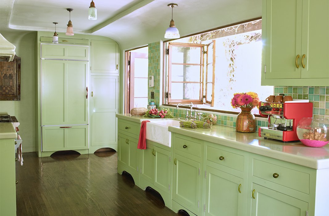 green colour kitchen designers their favorite paint colors for green kitchens 1360