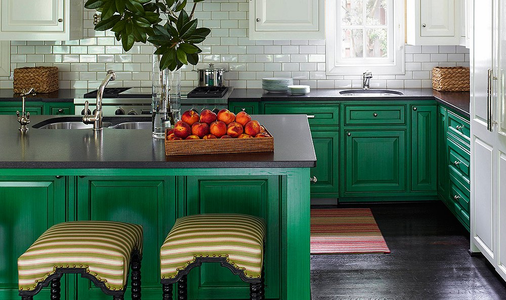Designer Tips For Showstopping Green Kitchens