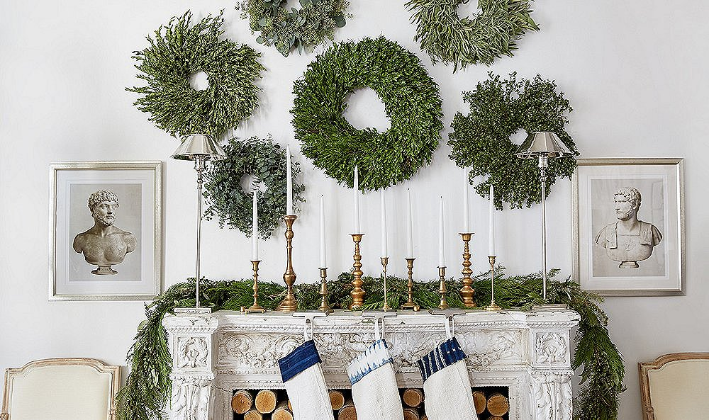 Try Our Fresh Take on Holiday Decor