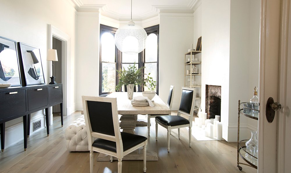 our dining room makeover for apartment 34's erin hiemstra