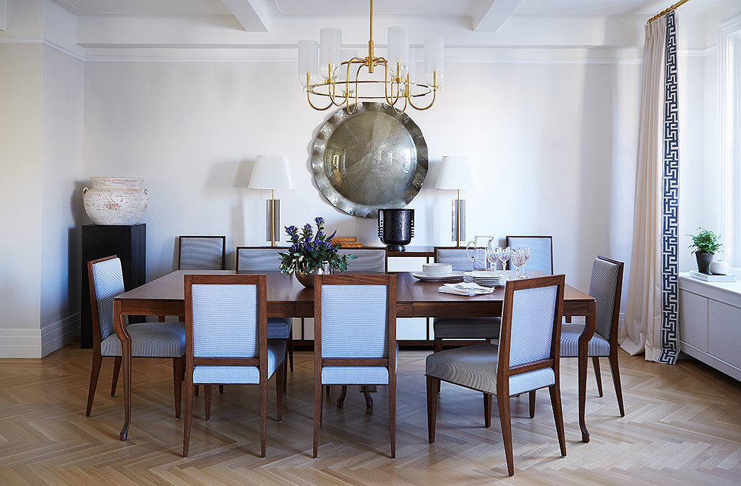 Lessons In Using Symmetry From Kapito Muller - Alyssa dining room set