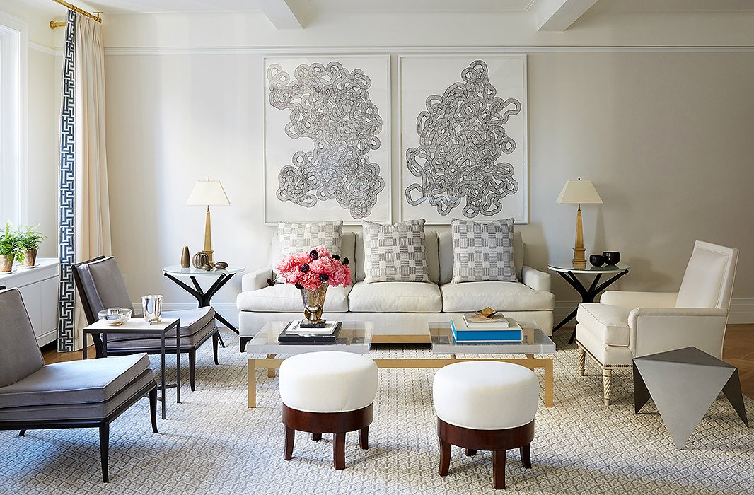 7 lessons in using symmetry from kapito muller for Symmetrical interior design