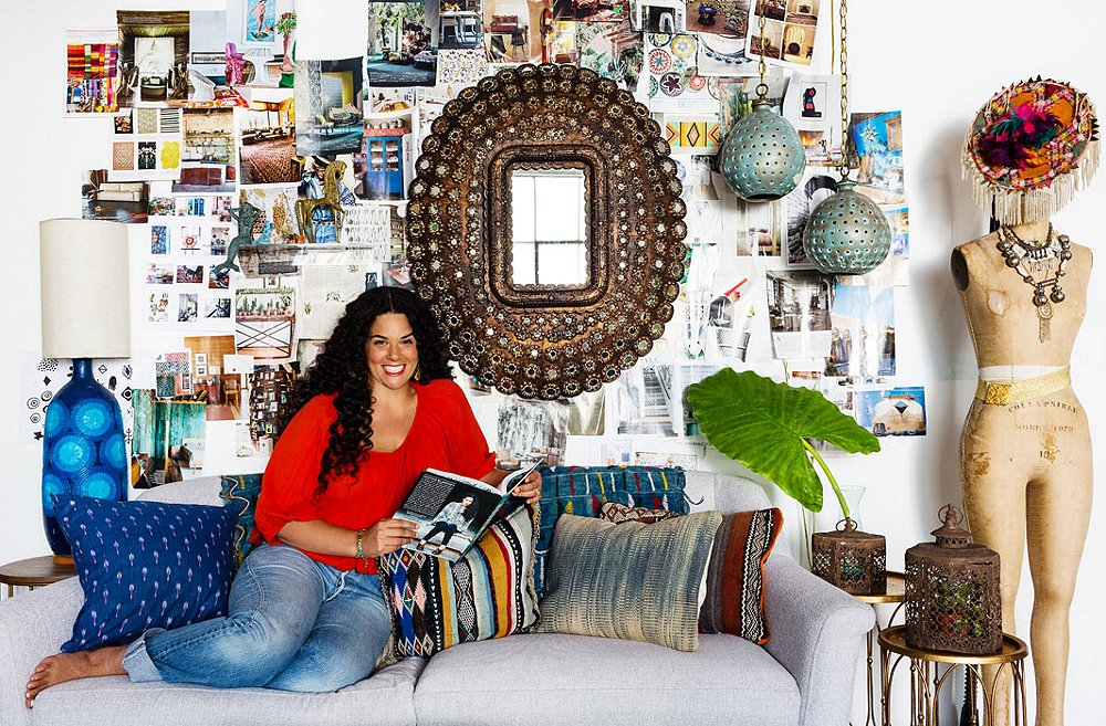Studio Tour: Inside Justina Blakeney's Boho Work Space