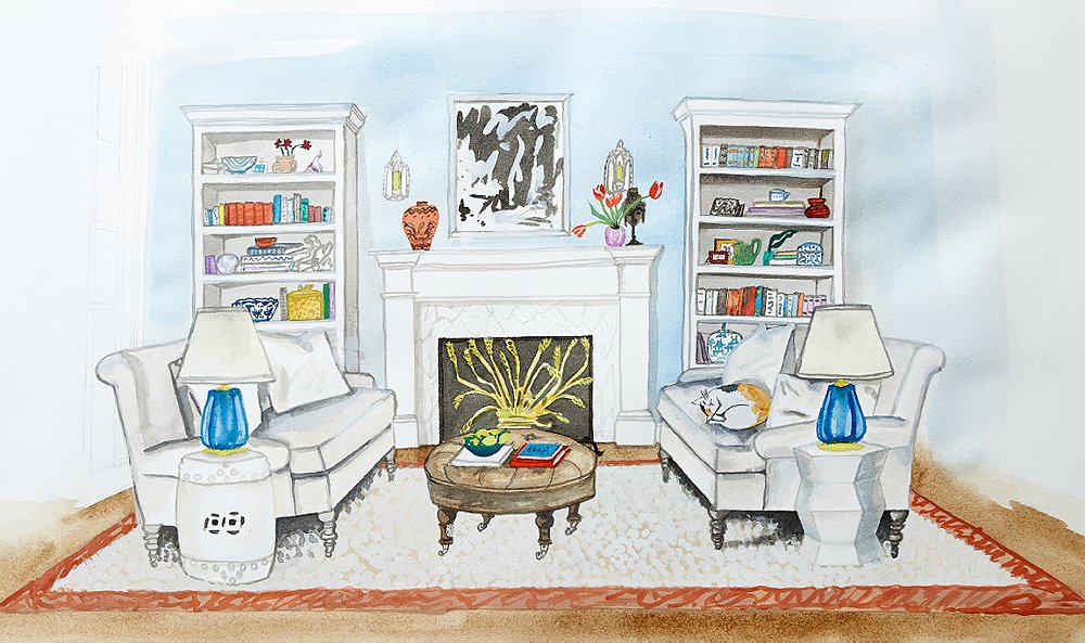 The Anatomy of a Living Room