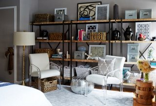 Superior Small Space Makeover: A Chic 400 Square Foot Apartment