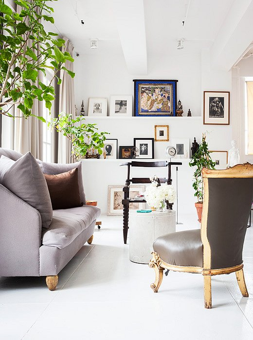 Tour Designer Vicente Wolf S Gorgeous Nyc Loft One Kings Lane