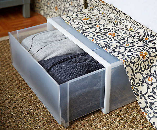 small space solutions storage underbed
