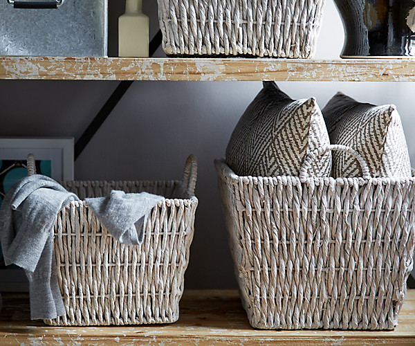small space solutions storage baskets