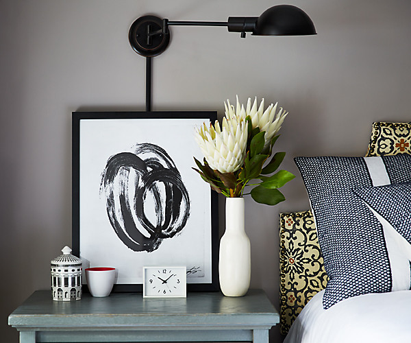 small space solutions vertical space sconce