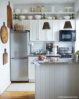 One Kings Lane & Simple Storage Upgrades for Tiny Kitchens \u2013 One Kings Lane \u2014 Our ...