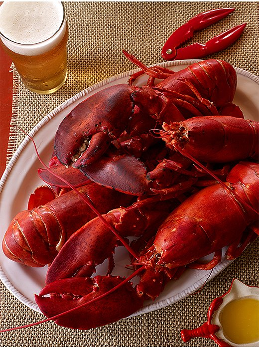 Is there anything more decadent than lobster doused in melted butter?
