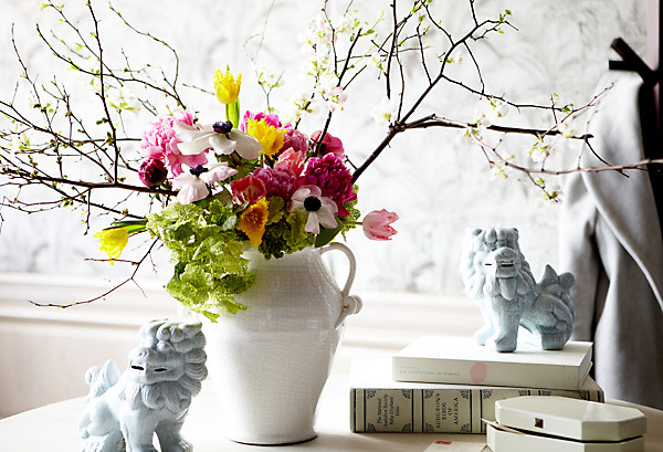 Spring Flower Arrangement Idea