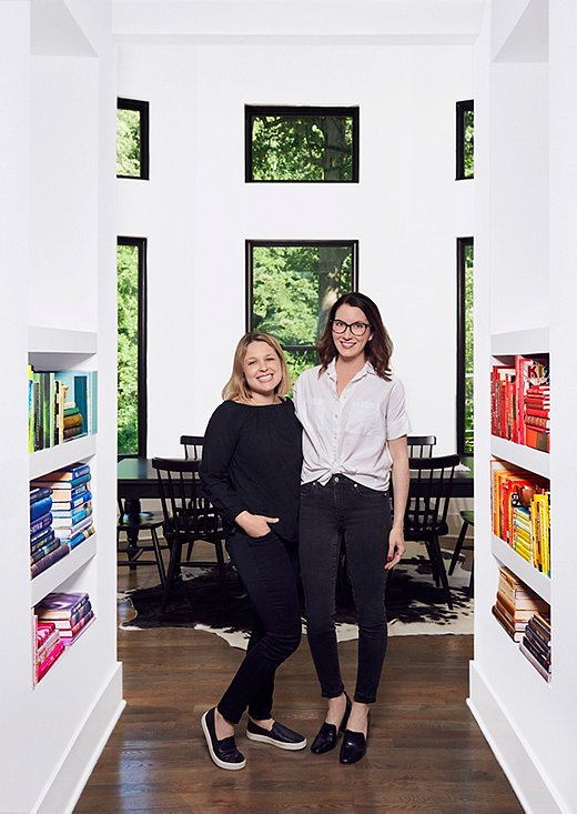 The Home Edit co-founders Joanna Teplin and Clea Shearer. Photo by John Shearer.