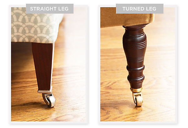 Straight Leg or Turned Leg
