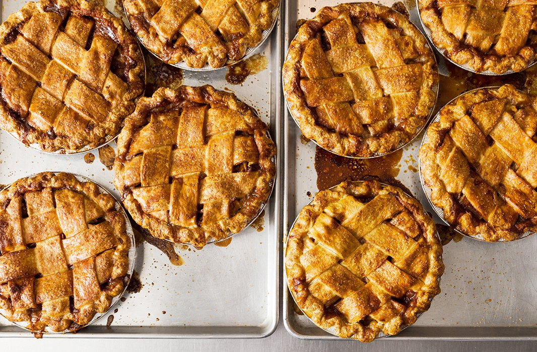 This is the dream: freshly baked pies from Four &Twenty Blackbirds in Brooklyn.