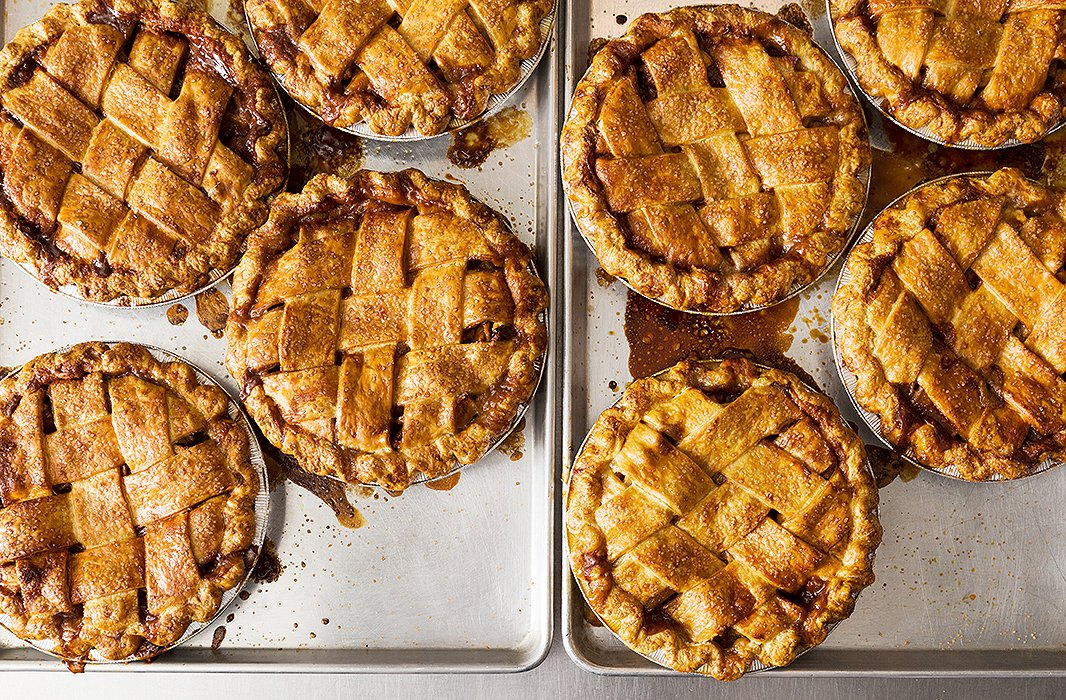 This is the dream: freshly baked pies from Four & Twenty Blackbirds in Brooklyn.