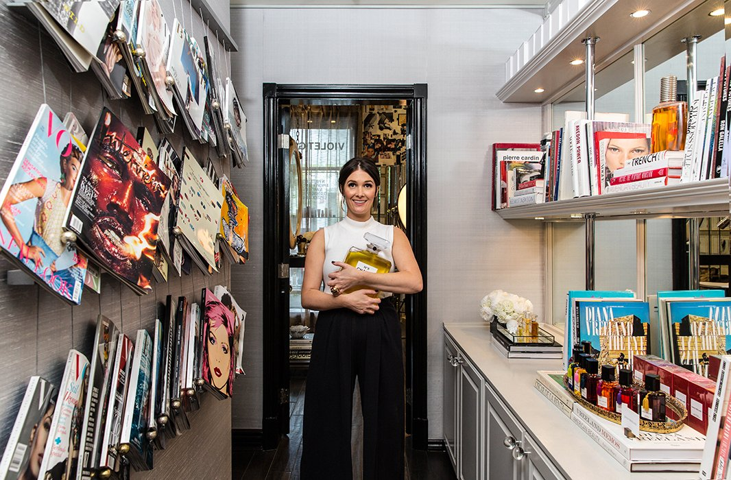 """When it comes to gathering inspiration, Cassandra stays true tothe evocative images of art tomes, photography books, and magazines from around the world. """"I knew the company I was going to start would have an art element and that would ultimately be the driver,"""" she says."""