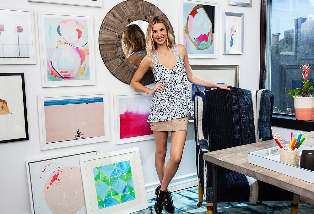 9 Ideas To Steal From Our Whitney Port Office Makeover