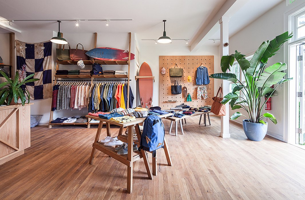 Brooklyn cool comes to the Hamptons by way of Pilgrim Surf + Supply. Photo courtesy of Pilgrim Surf + Supply.