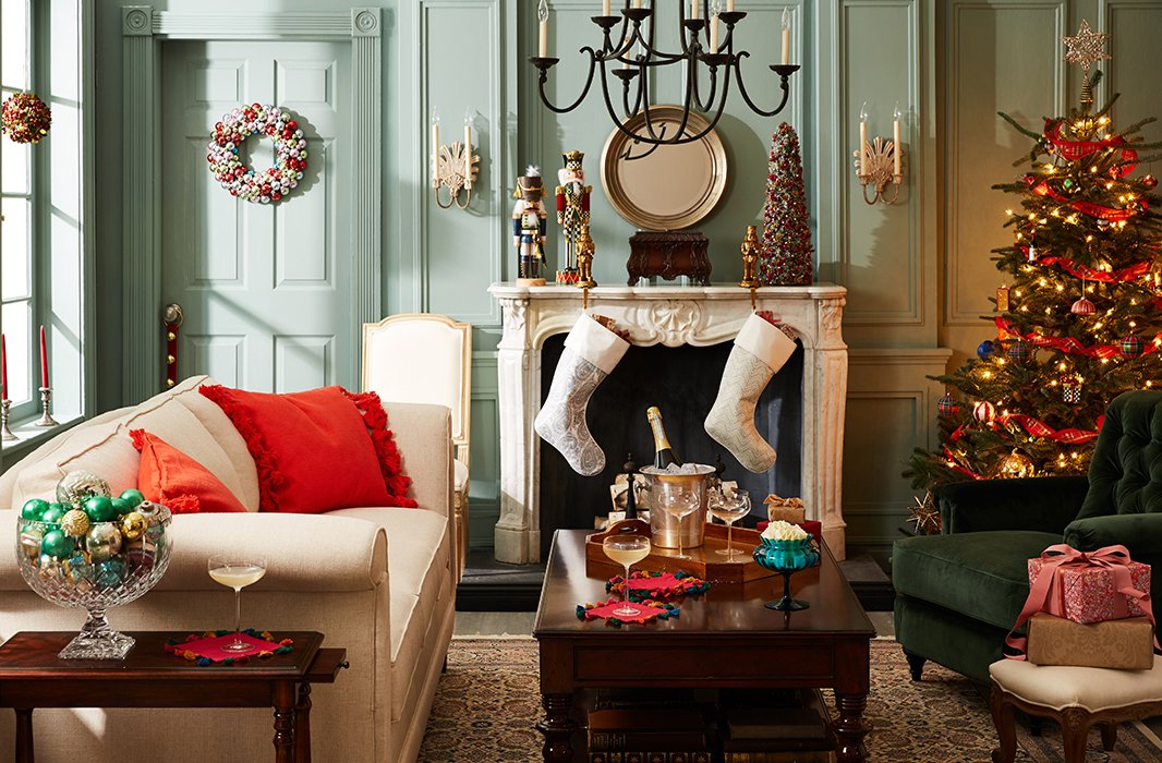 Bring home the classic, all-American look of Christmas in Connecticut.