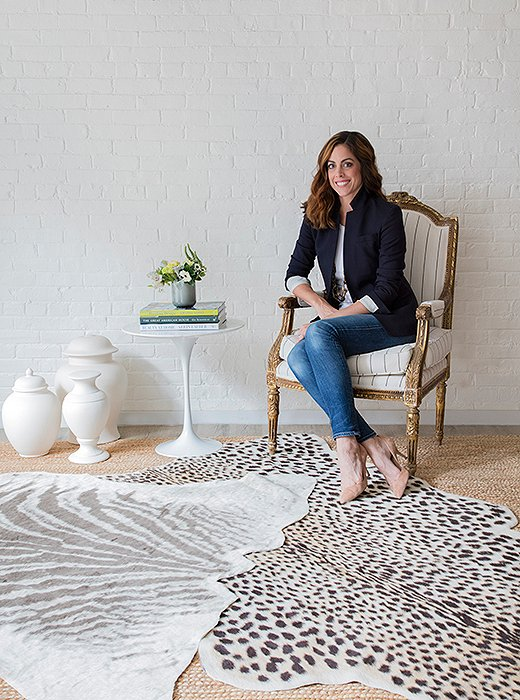 Interior designer and author Erin Gates, who also pens the popular design blog Elements of Style. Photo courtesy of Erin Gates Design.