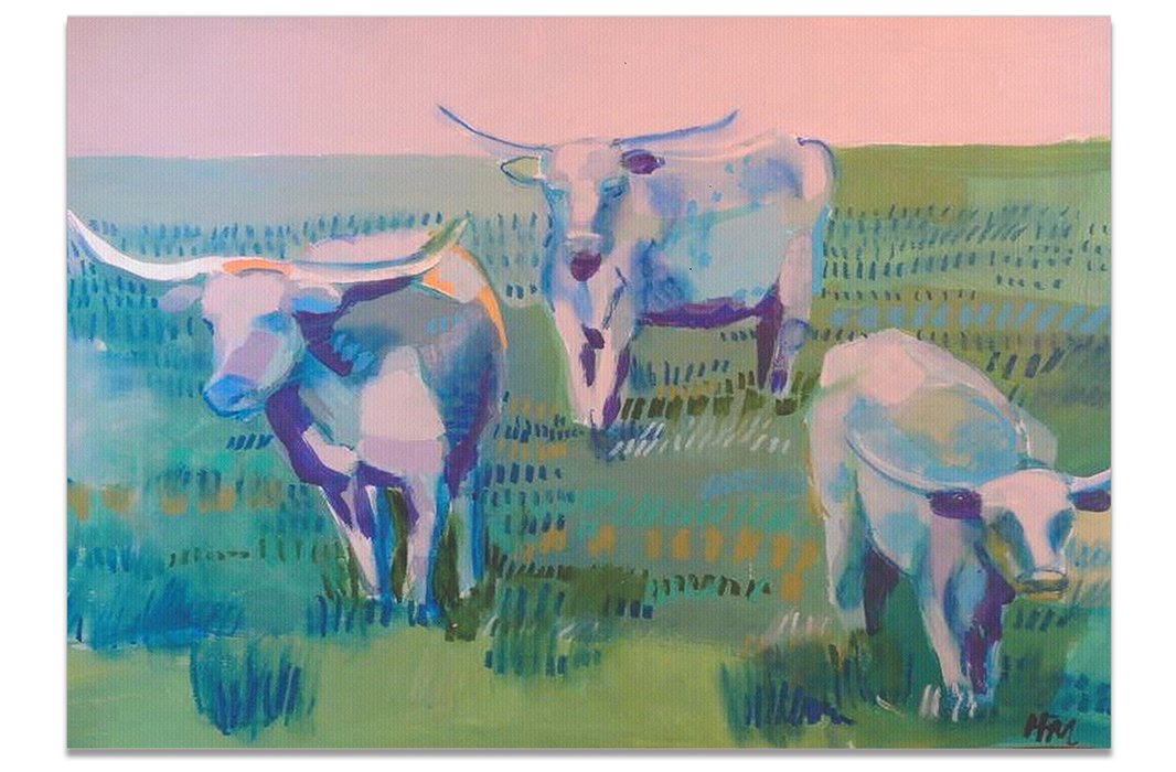 Longhorns by Hayley Mitchell.