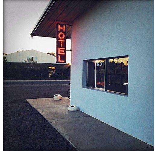The Thunderbird hotel's retro appeal.