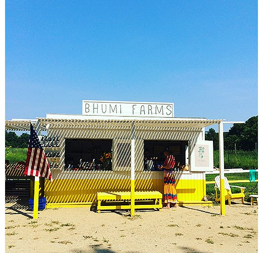 The Bhumi Farms stand is a must for local produce. Photo by @ananewyork.