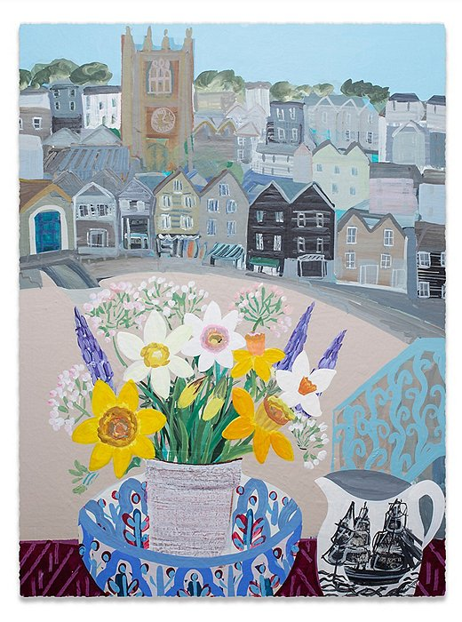 Daffodils and Pots by Emma Williams.
