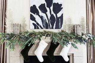 5 Festive Holiday Mantel Decorating Ideas