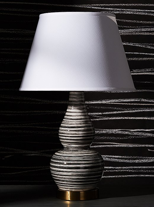 The Eureka is our classic double-gourd lamp, available in eight stylish color and finish options.
