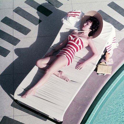 Mara Lane by Slim Aarons.