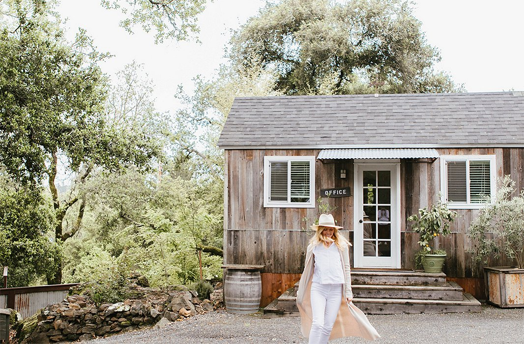 Our wine-country guide, Ashley Kane, snapped here at the Farmhouse Inn. Photo by @ashleykane.