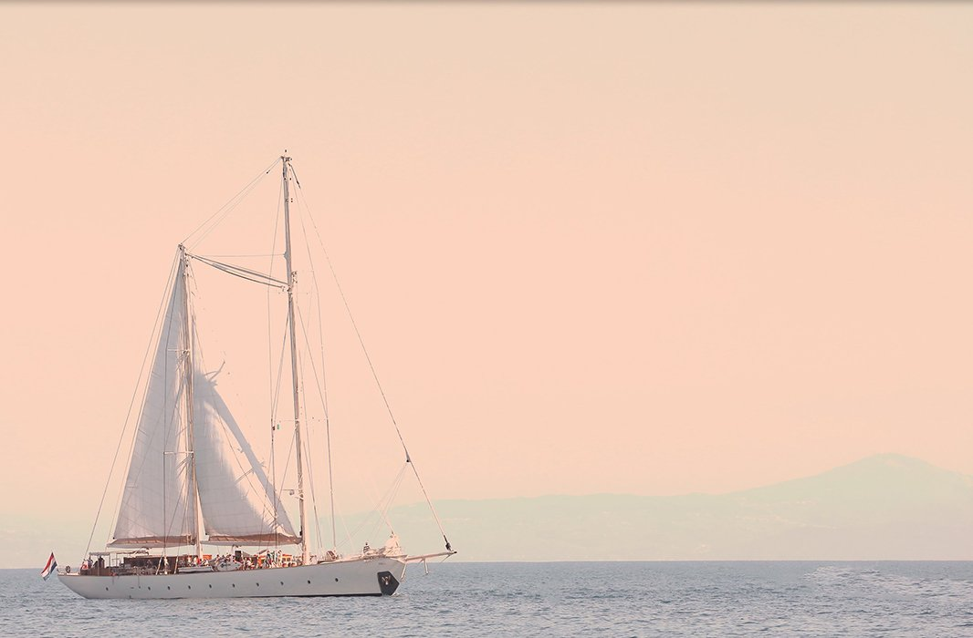 Rosey Sailing Day by Judith Gigliotti.