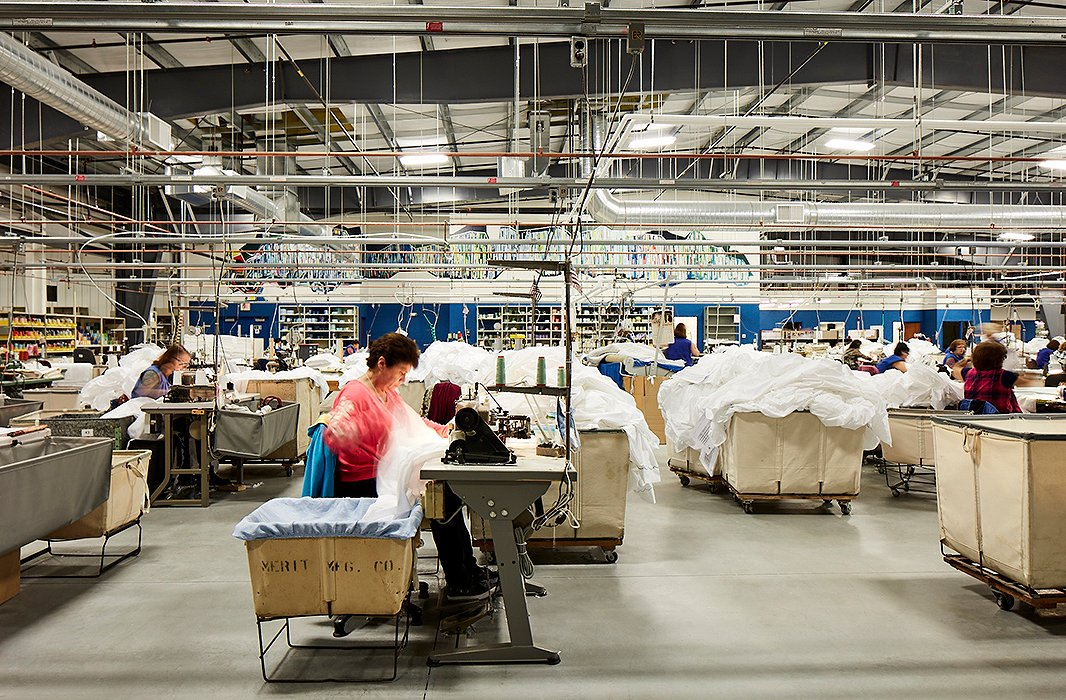 Tour The Matouk Bedding Factory In Fall River Ma