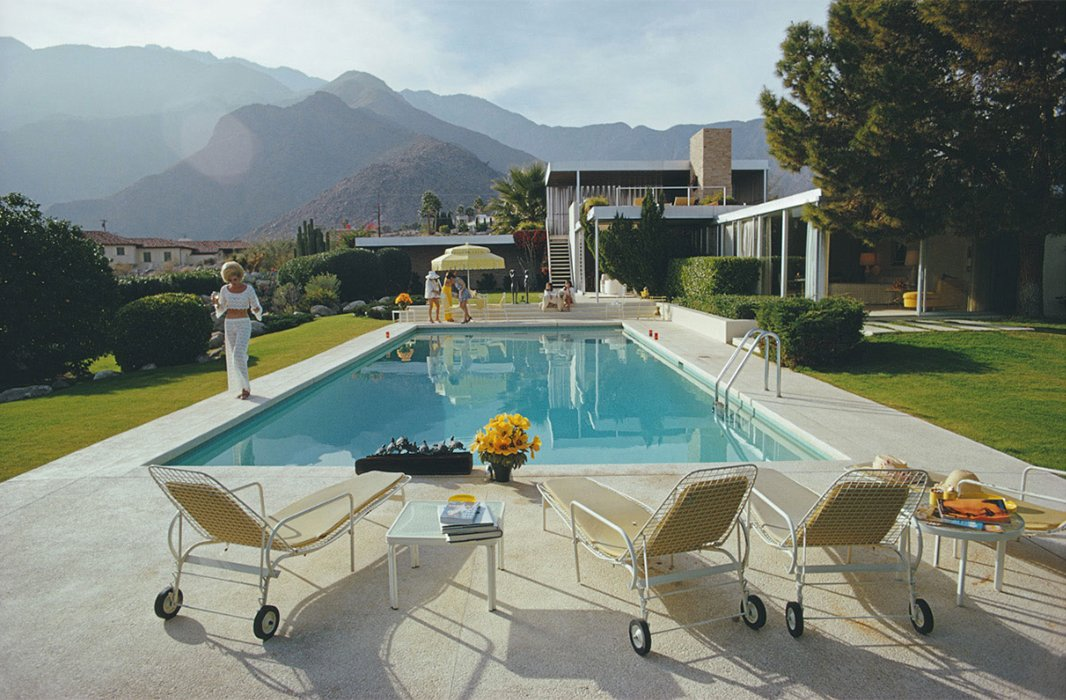 Kaufmann Desert House by Slim Aarons.