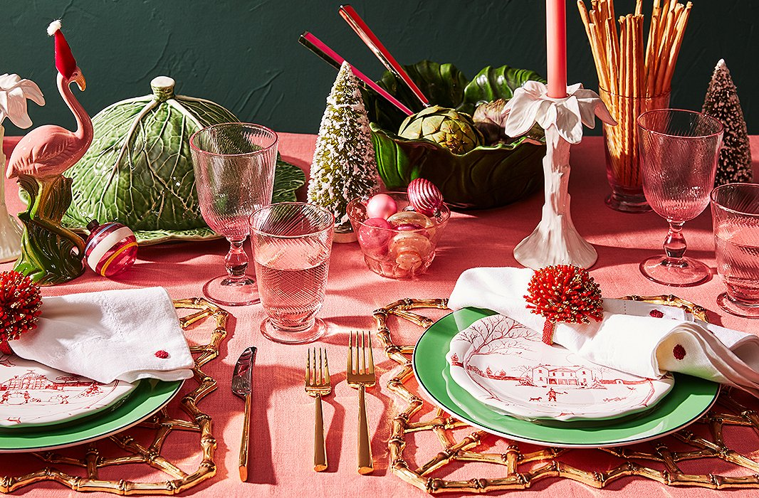 4 festive ways to dress your holiday table Christmas table dressing