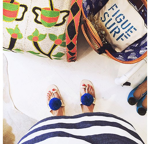 Covetable accessories abound at East Hampton shop Figue. Photo by @ananewyork.