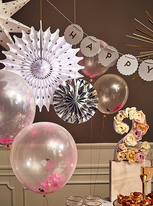 A few easy DIY projects will make your party all the more memorable.
