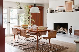 Chairs By Mies Van Der Rohe Surround A Midcentury Table. U201cI Think My  Favorite