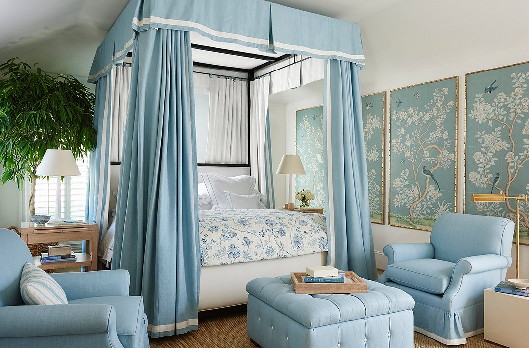 Pieces from the Pacific Palisades collection are perfect for creating a dreamy bedroom.
