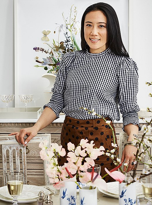 One Kings Lane stylist and entertainer extraordinaire Michelle Wong.