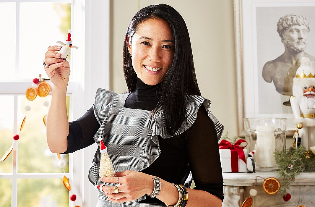 One Kings Lane stylist—and entertainer extraordinaire—Michelle Wong.