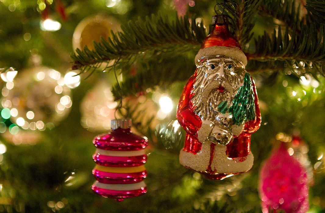 """As my grandmother grew older, she took pleasure in letting me decorate her tree, and I have many happy memories of doing it,"" writes Bob. ""Now one of my favorite and most treasured ornaments is her favorite Santa Claus. Each year when I hang him on my tree, I think of her and smile."""