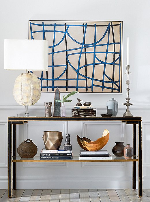 A Step By Step Guide To Decorating A Console Table