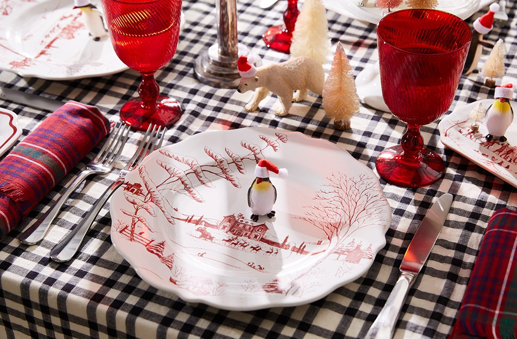As classic as it is whimsical, Juliska's Country Estate Winter collection is the perfect choice for a timeless holiday table.